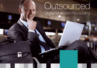 Cover of Dajon Data Management Outsourced Digital Mailroom Processing brochure