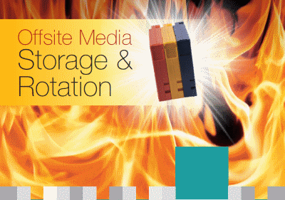 Cover of Offsite Media Storage & Rotation brochure