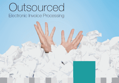 Cover of Outsourced Electronic Invoice Processing brochure