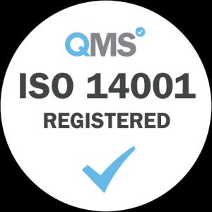Dajon is certified compliant to ISO 14001 standard