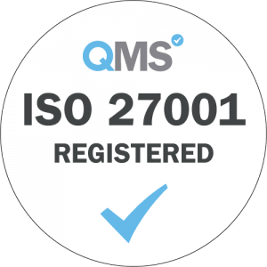 Dajon is certified compliant to the ISO 27001 standard