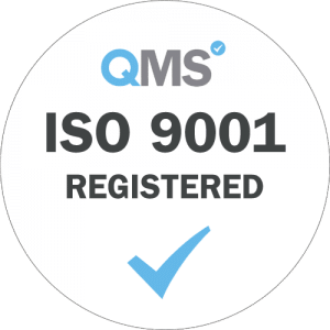 Dajon is certified compliant to the ISO 9001 standard
